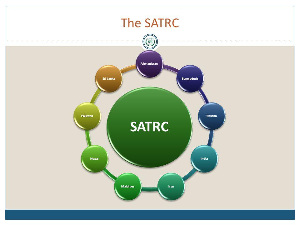 The SATRC SATRC Afghanistan BangladeshBhutanIndiaIranMaldives Nepal Pakistan Sri Lanka