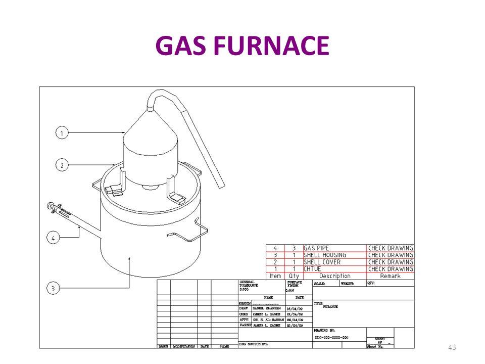 GAS FURNACE 43
