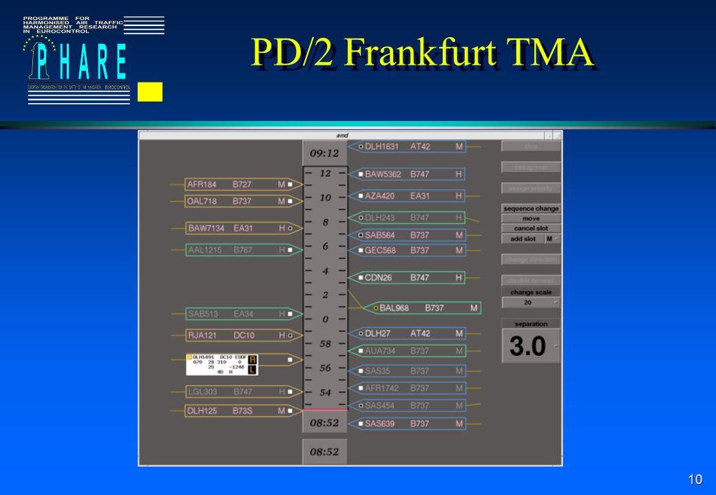 10 PD/2 Frankfurt TMA