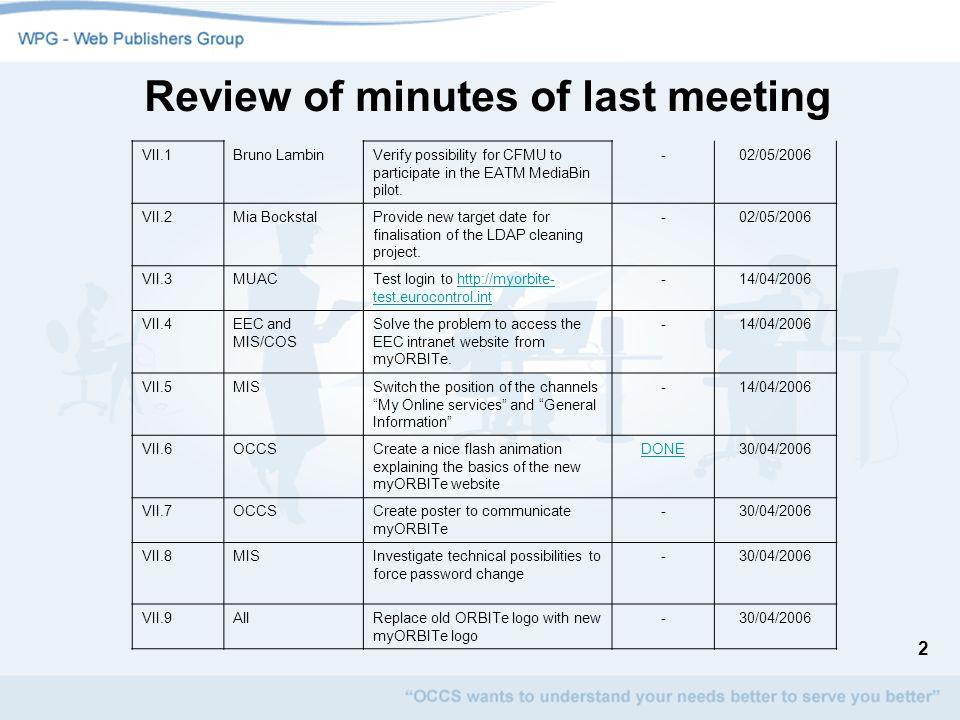 3 myORBITe Review of remarks