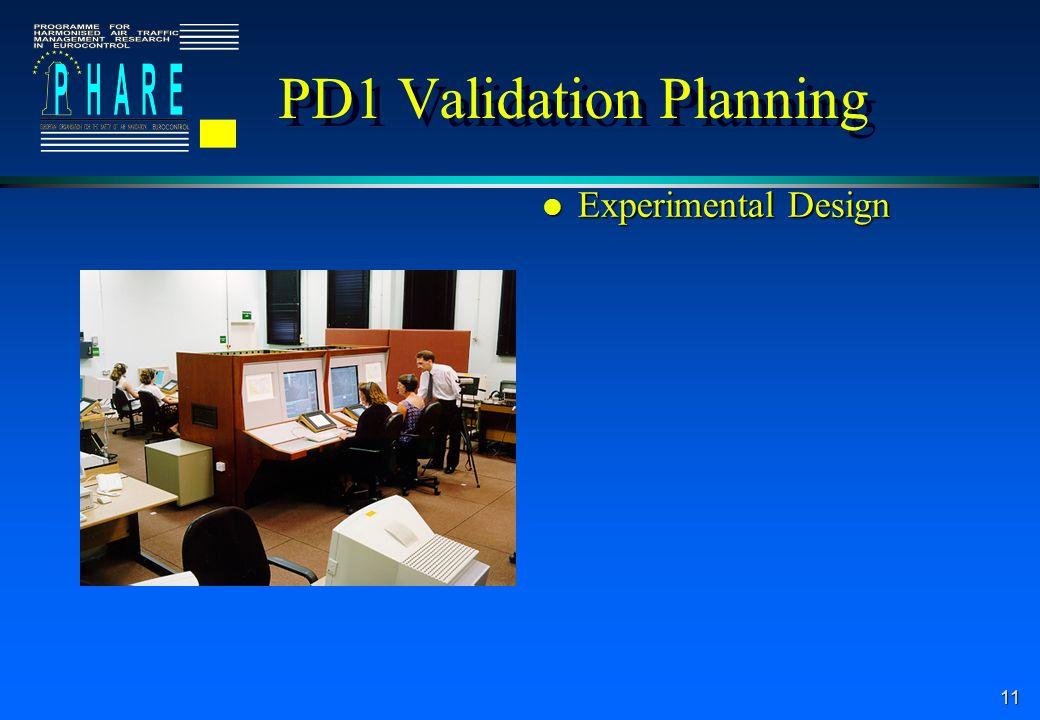11 l Experimental Design PD1 Validation Planning