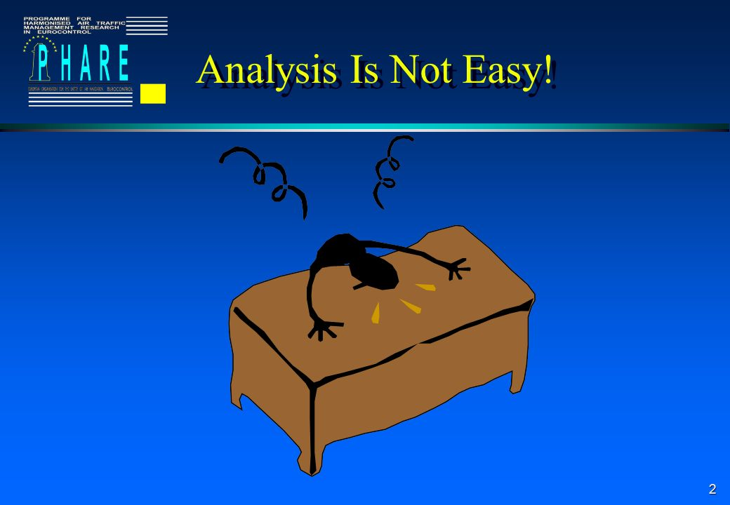 2 Analysis Is Not Easy!