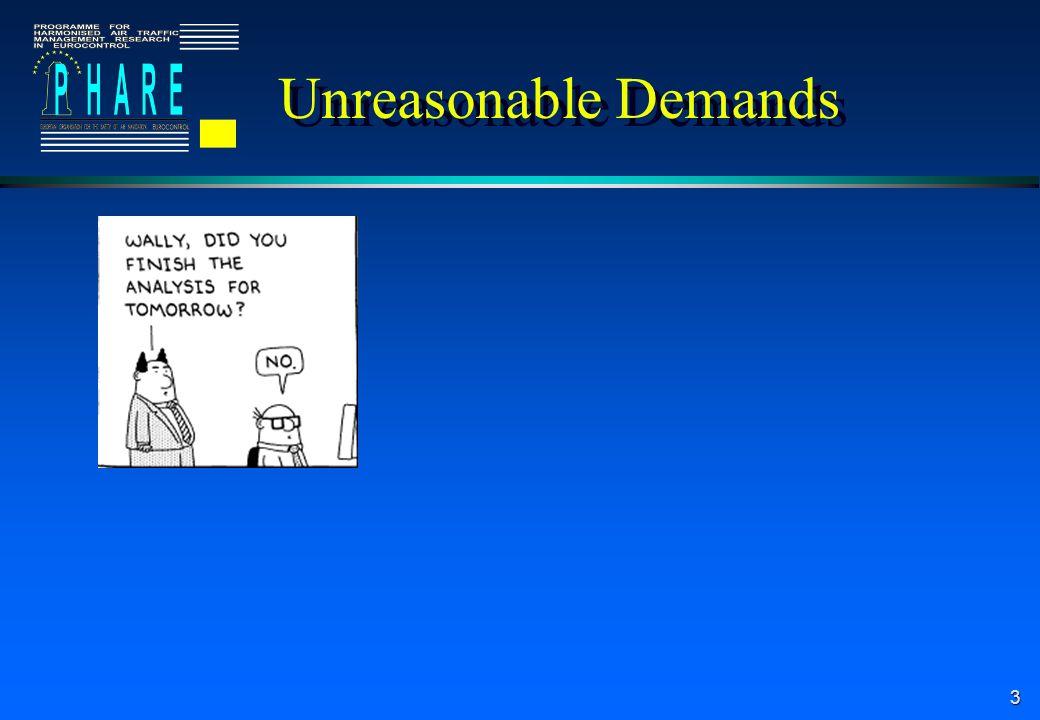 3 Unreasonable Demands