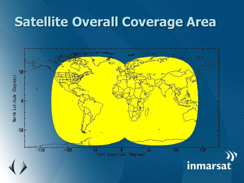 Satellite Overall Coverage Area