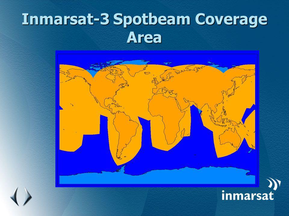 Inmarsat-3 Spotbeam Coverage Area