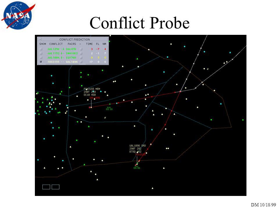 DM 10/18/99 Conflict Probe