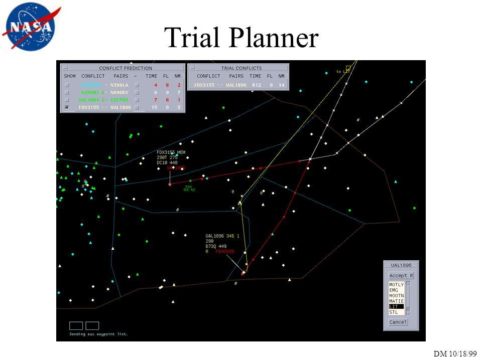 DM 10/18/99 Trial Planner