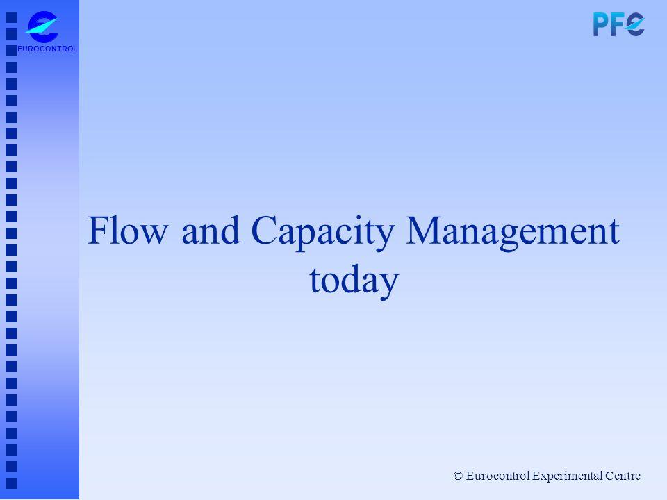 © Eurocontrol Experimental Centre EUROCONTROL Flow and Capacity Management today