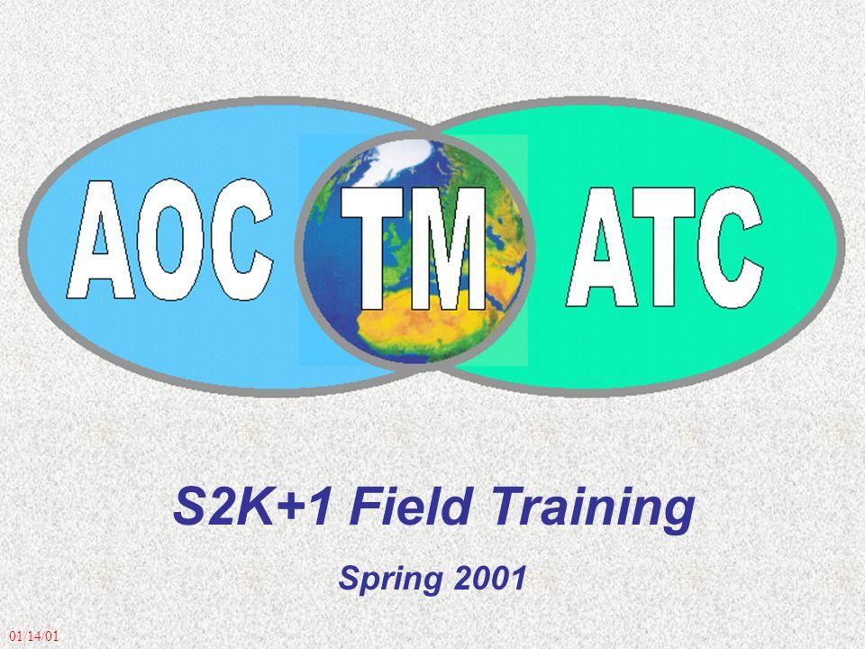 01/14/01 S2K+1 Field Training Spring 2001