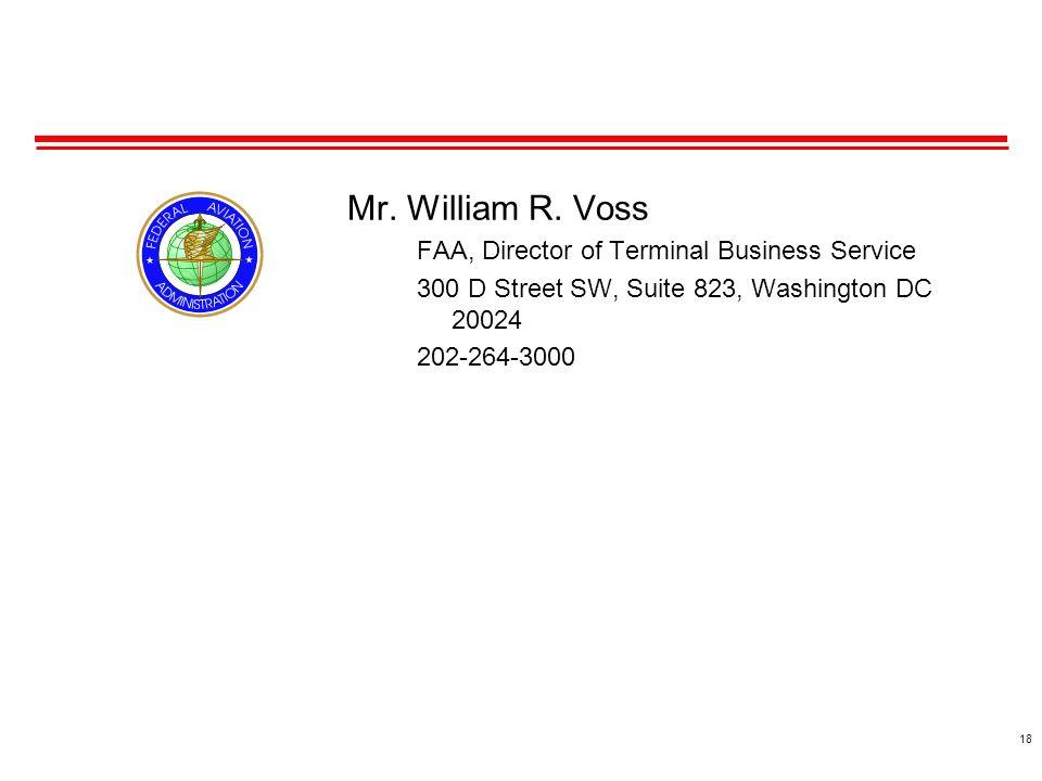 18 Mr. William R.