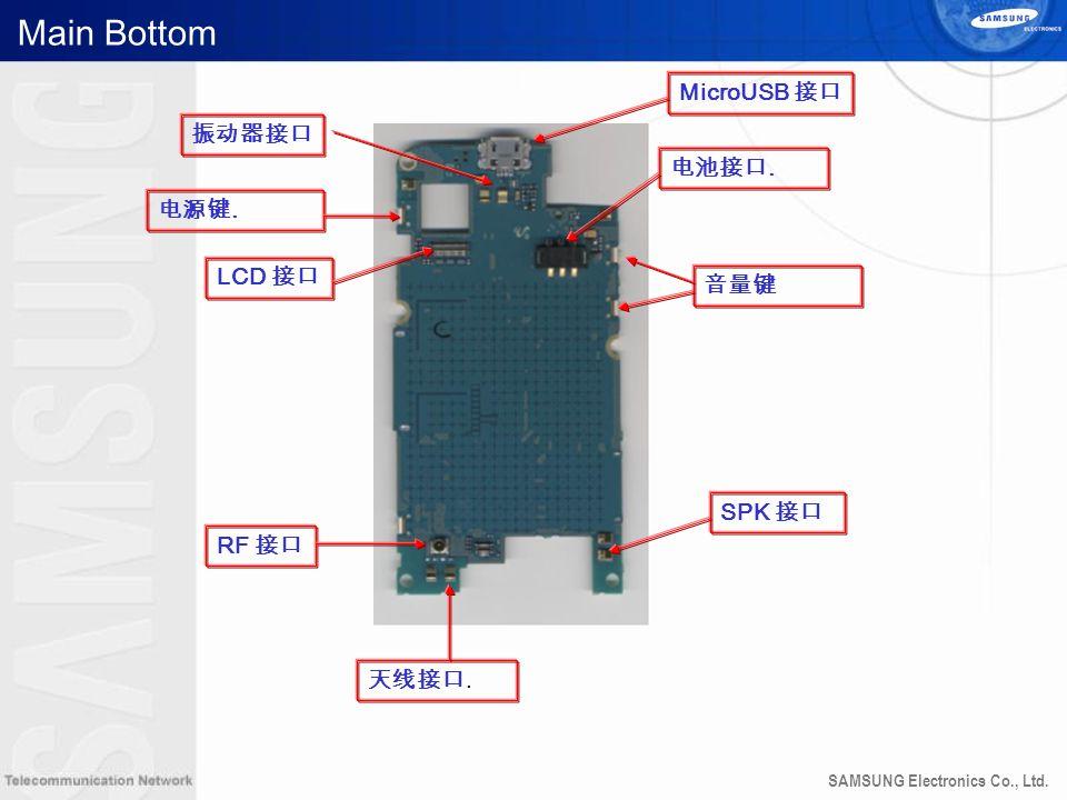 SAMSUNG Electronics Co., Ltd. Main Bottom LCD RF.. SPK. MicroUSB