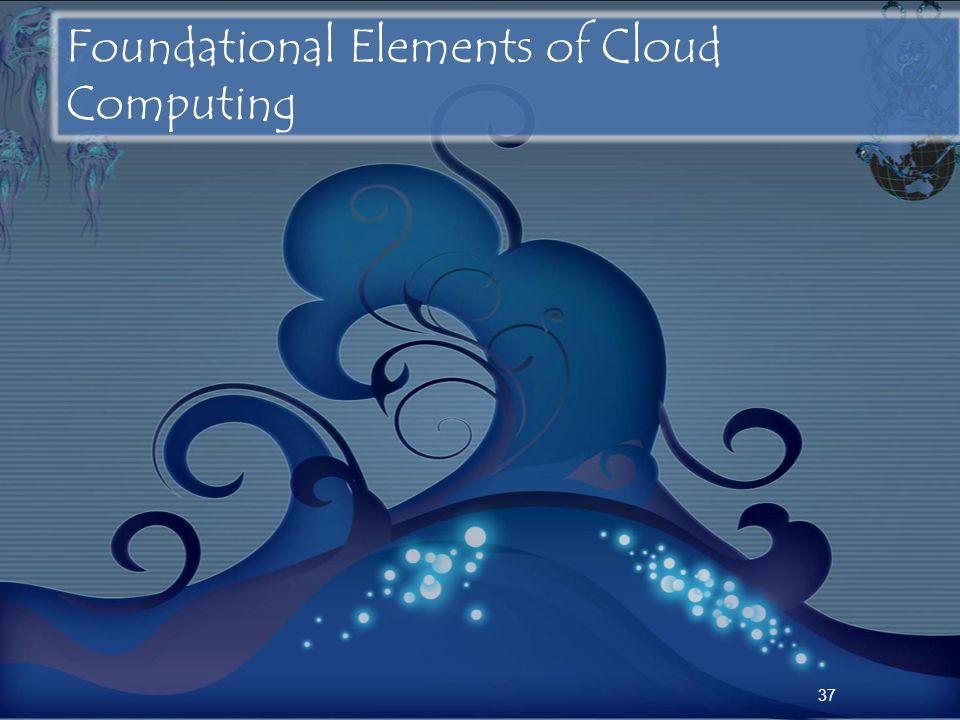 37 Foundational Elements of Cloud Computing