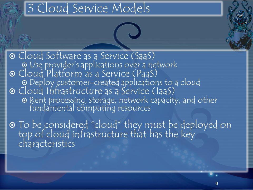 Service Model Architectures 7