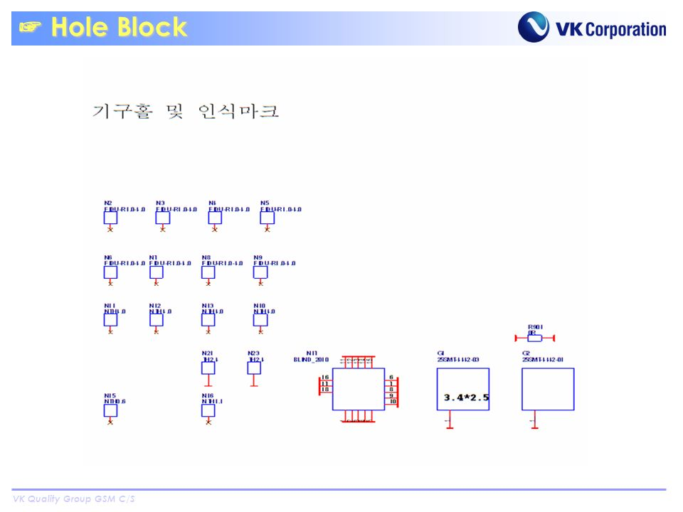 VK Quality Group GSM C/S Hole Block Hole Block