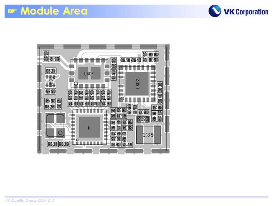 VK Quality Group GSM C/S Module Area Module Area