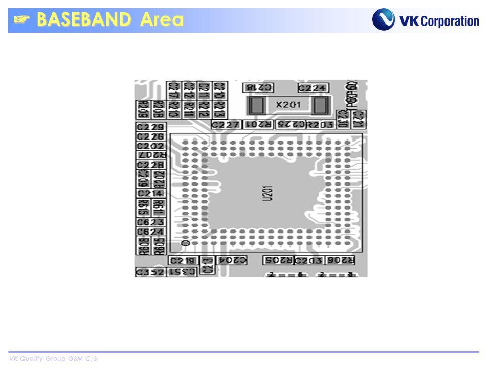 VK Quality Group GSM C/S BASEBAND Area BASEBAND Area