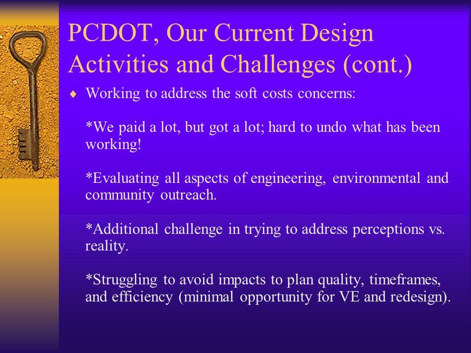 PCDOT, Our Future…….