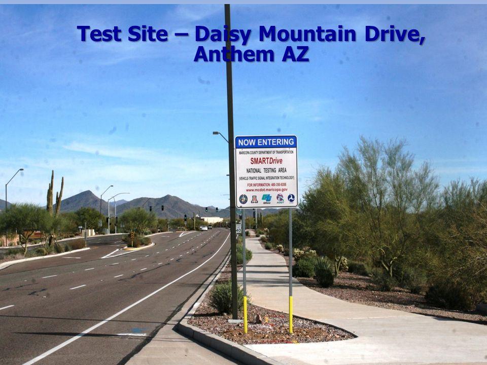 SMARTDrive Test Site – Daisy Mountain Drive, Anthem AZ