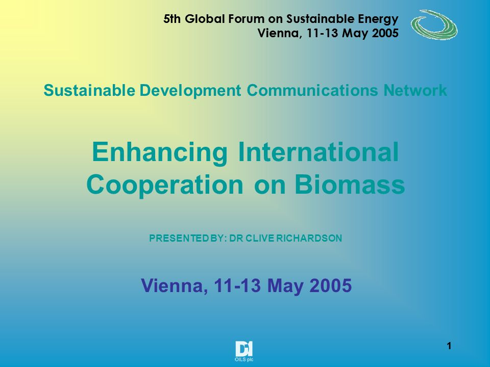 21 5th Global Forum on Sustainable Energy Vienna, 11-13 May 2005 21 5th Global Forum on Sustainable Energy Vienna, 11-13 May 2005 DESCRIPTIONDATAREMARKS Number of bunches /plant750 bunchesPotential No of fruits per bunch10 fruits No of fruits per plant7500 fruits On an average of 5 fruits per bunch (750 x 5)3750 fruitsAverage No of seeds per fruit3 seedsAverage No of seeds out of 3750 fruits (3750 x3)11250 seedsAverage No of seeds per kilogram1200 seeds/kg Seed Yield per plant in kg (1/1200 x 11250)9 kg No of plants per acre 1200 to 1500 a) if (2mx2.0m=1200) (1200 x 9)10.08 mt b) if (2mx1.5m=1500) (1500 x 9)13.50 mt c) if (2mx1.0m=2000) (2000 x 9)18.00 mt