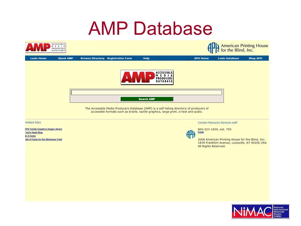 AMP Database