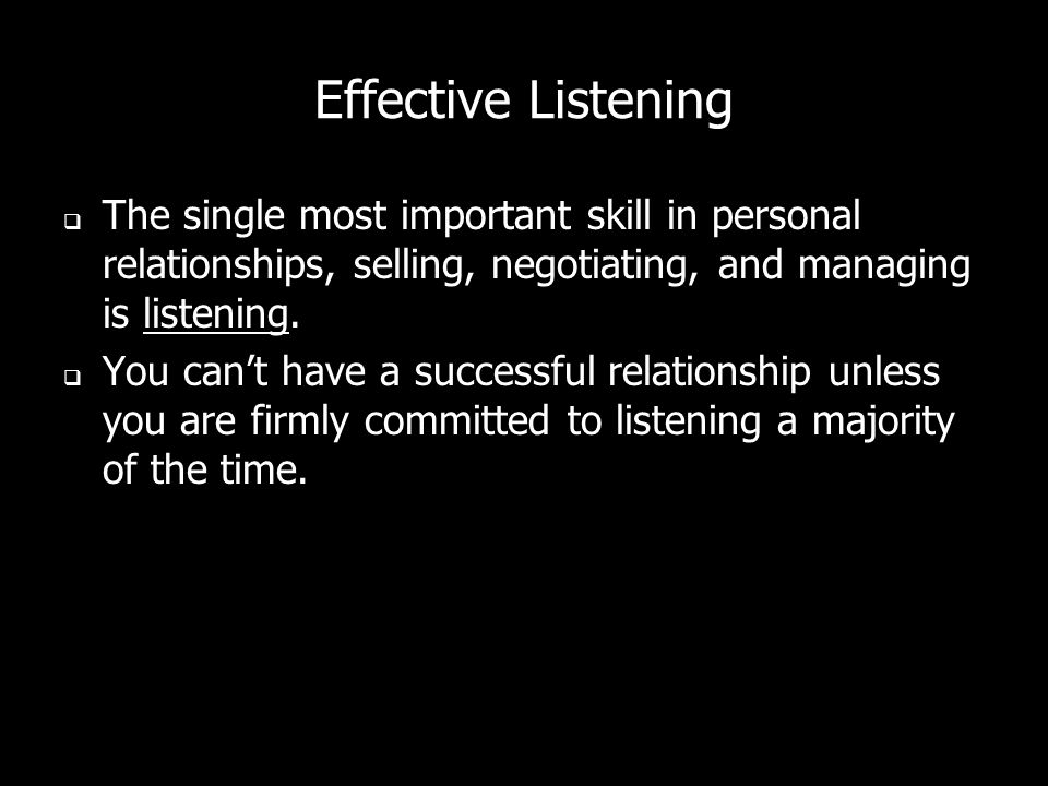 Solutions Selling Relationship rule: People dont care how much you know until they know how much you care. – The best way to let people know how much