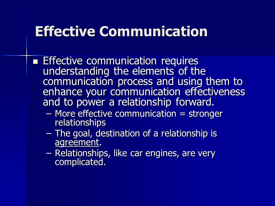 Effective Listening Listening is an essential component of communication. The Communication Process Source Message ChannelReceiver Listening Understan