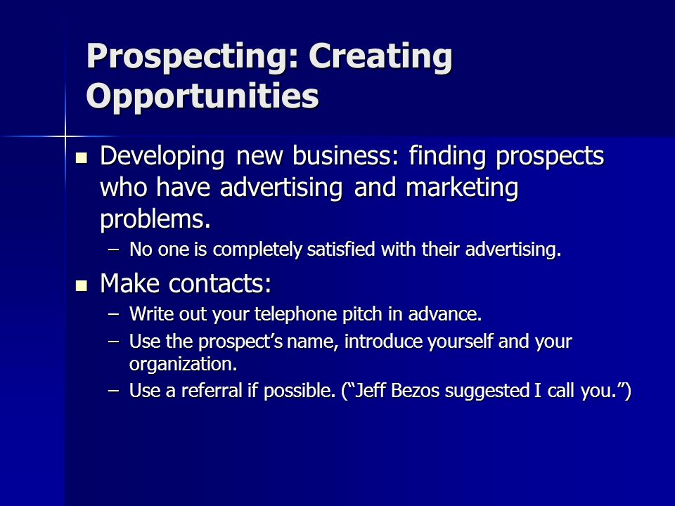 Set Activity and Revenue Objectives There must be a well-organized system for tracking and reporting on calls, meetings, presentations, opportunities,