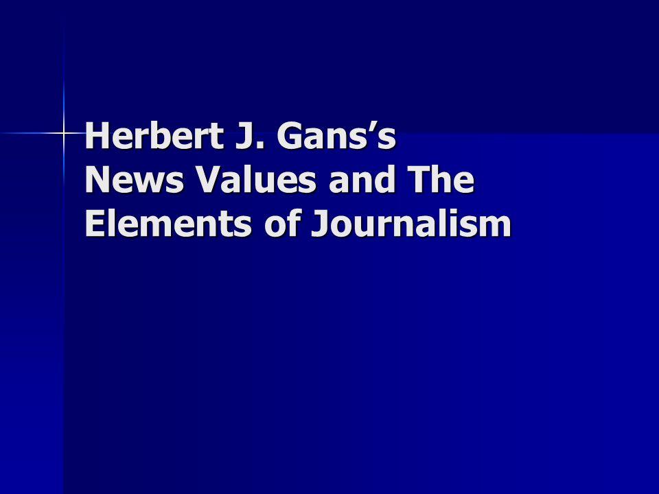 Sociologist Herbert J.