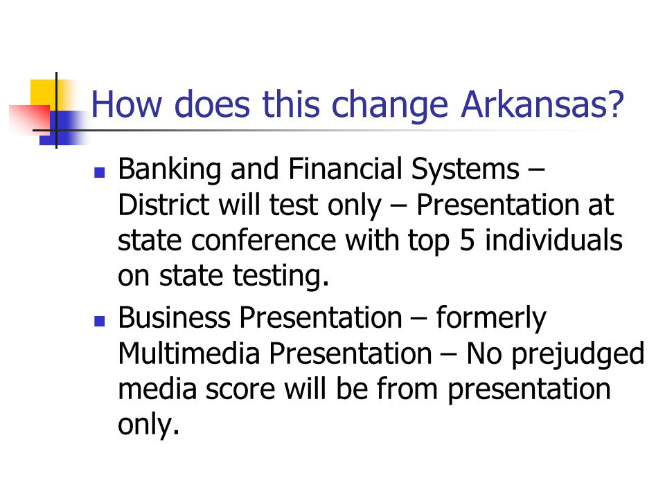How does this change Arkansas.