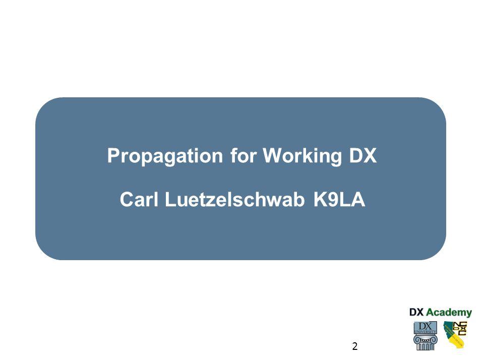 3 Carl Luetzelschwab K9LA received his Novice license WN9AVT in October 1961.