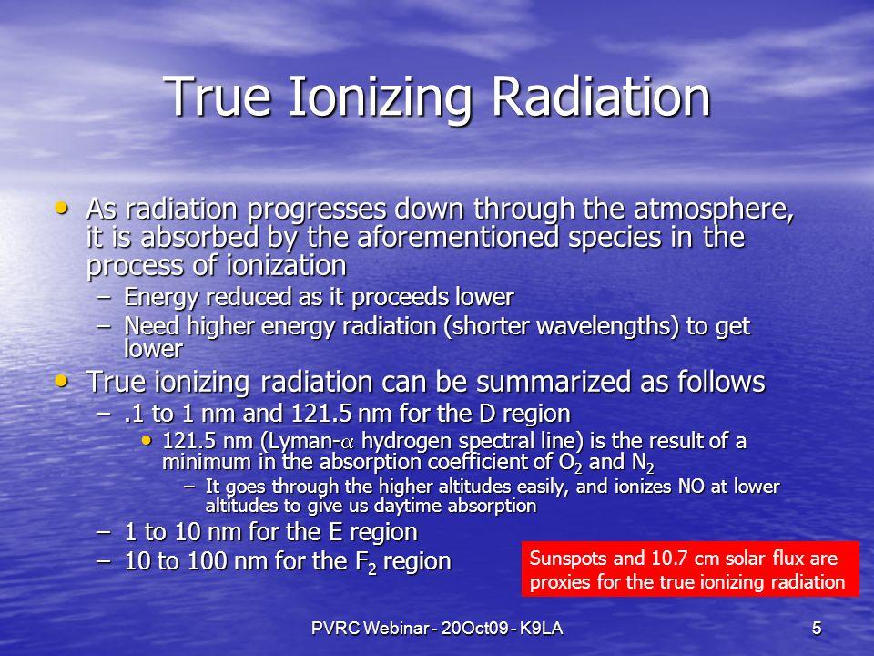 PVRC Webinar - 20Oct09 - K9LA6 Measuring the Ionosphere