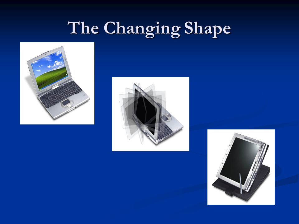 The Changing Shape