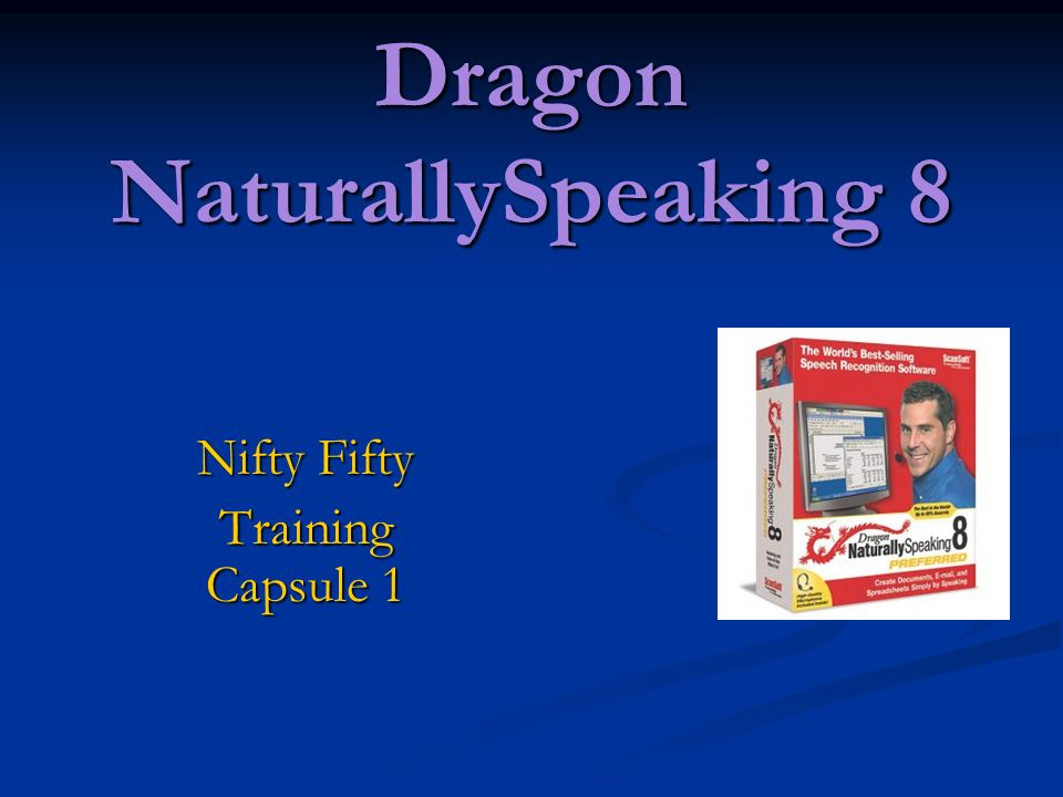 Nifty Fifty Training Capsule 1