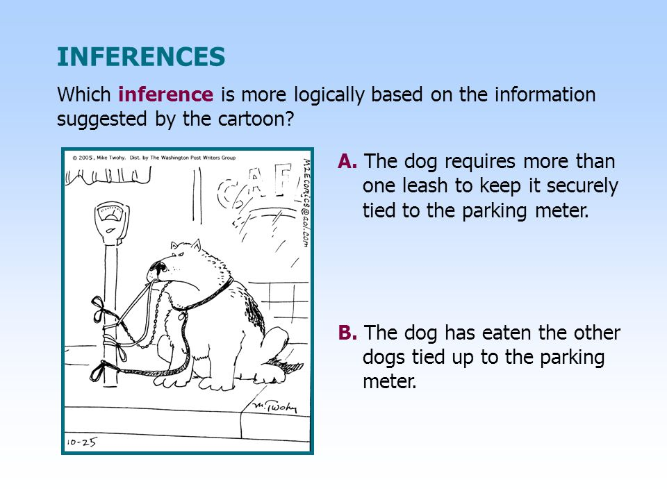 A. The dog requires more than one leash to keep it securely tied to the parking meter.