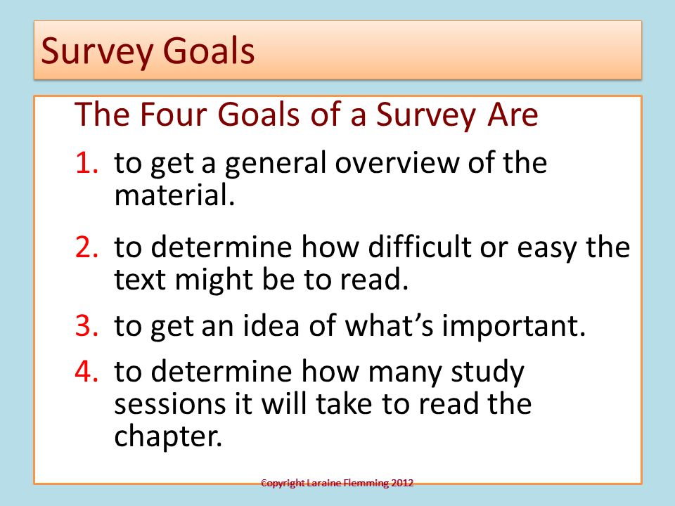 Staying Focused is Essential None of the techniques for mastering your textbooks will be effective if, while studying, you are texting and checking your cell, RSS feed, or Twitter (unless what you are looking at or checking is related to the assignment.