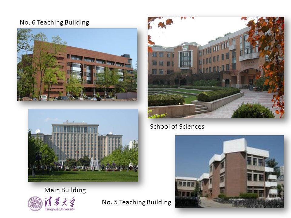 School of Sciences Main Building No. 6 Teaching Building No. 5 Teaching Building