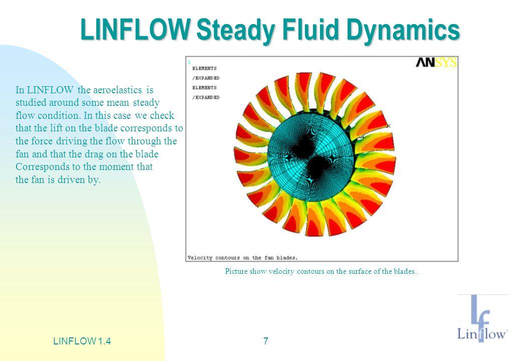 LINFLOW 1.48 LINFLOW Aeroelastic Stability Anlysis of the Fan.
