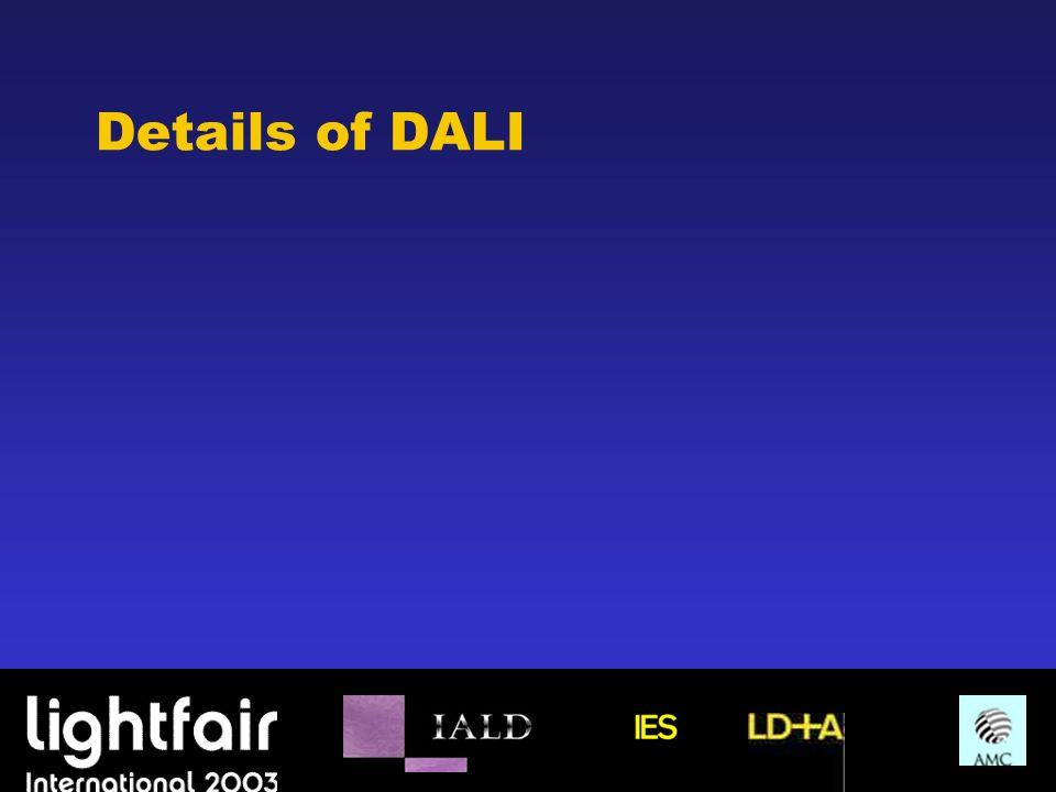 Details of DALI