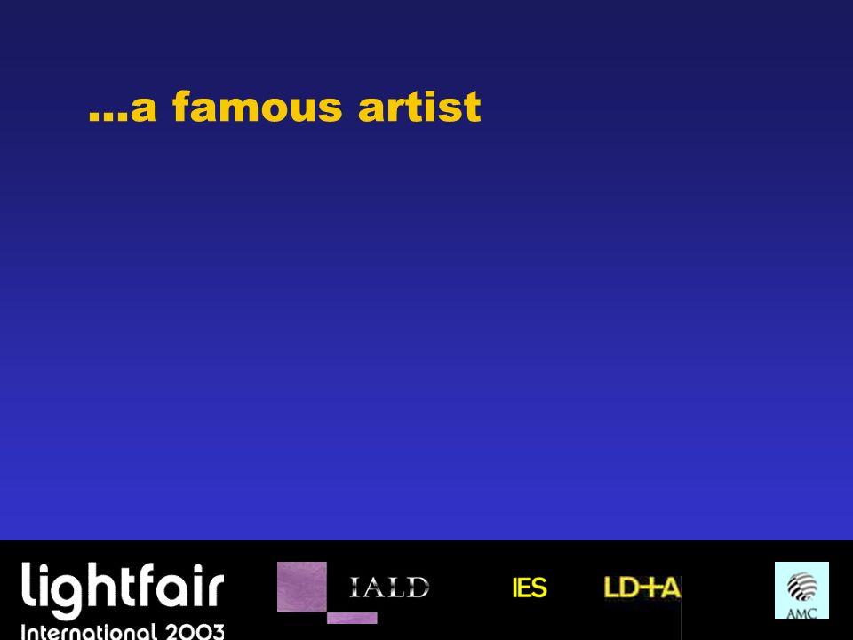 …a famous artist