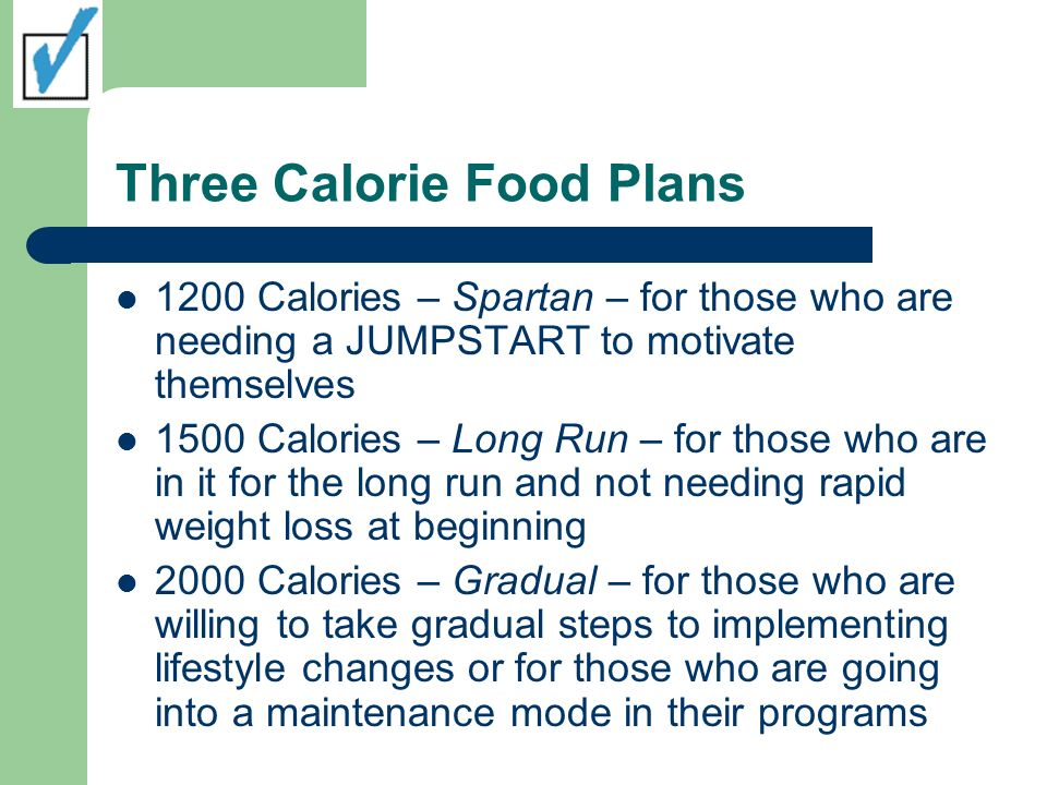 Calorie Food Plan Allow for: Breakfast Mid Morning Snack Lunch Mid Afternoon Snack Dinner Late Evening Snack