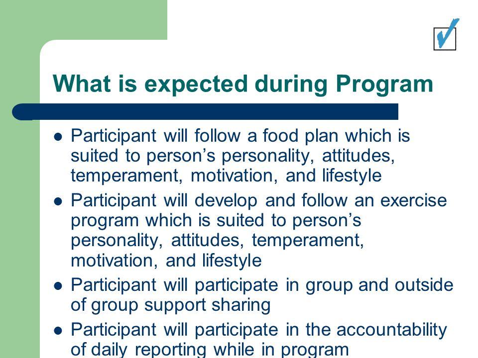 Principles of the Balanced Lifestyles Program 1.