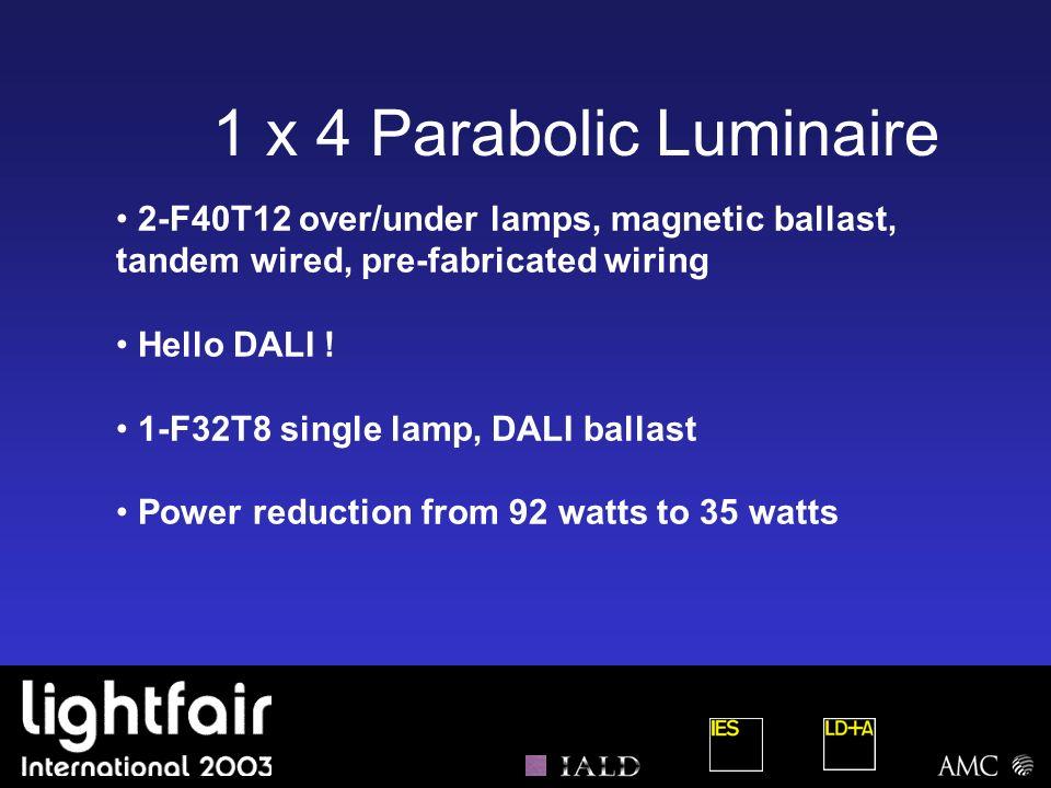 (contd) Design Build Guidelines Lighting Restrictions- Lighting (fluorescent vs.