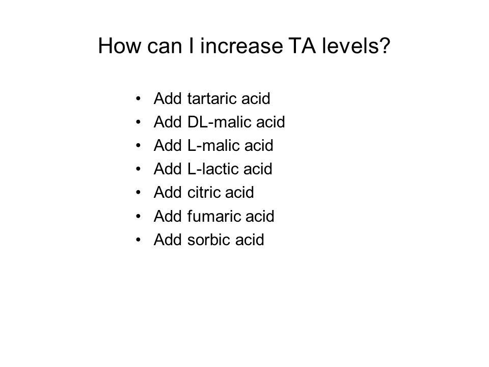 How can I decrease acidity levels.
