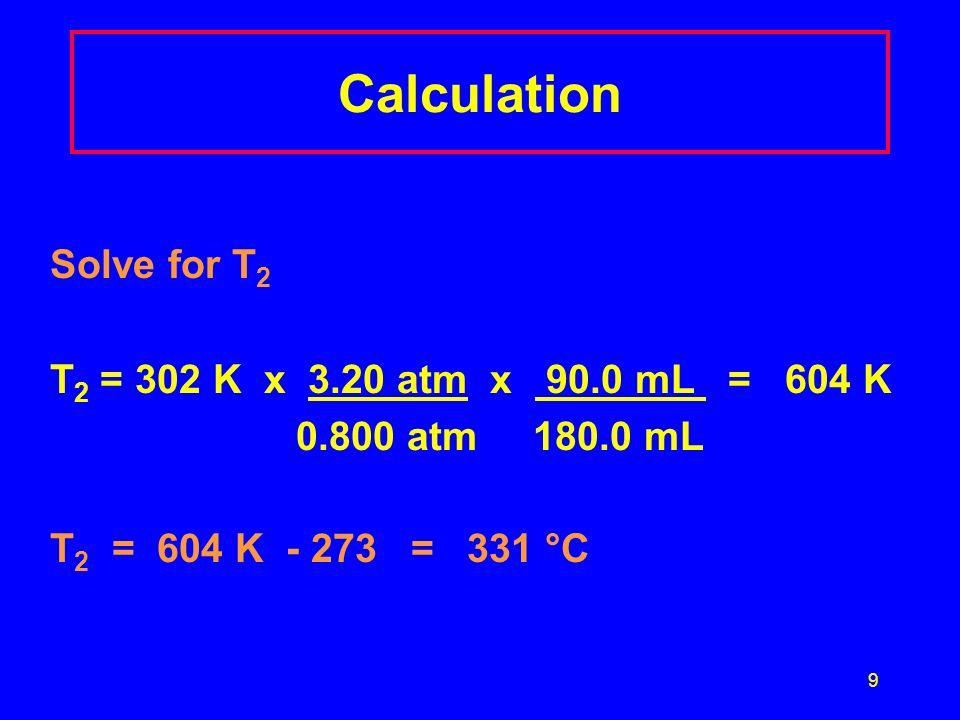 20 Molar Volume Factor 1 mole of a gas at STP = 22.4 L 22.4 L and 1 mole 1 mole 22.4 L