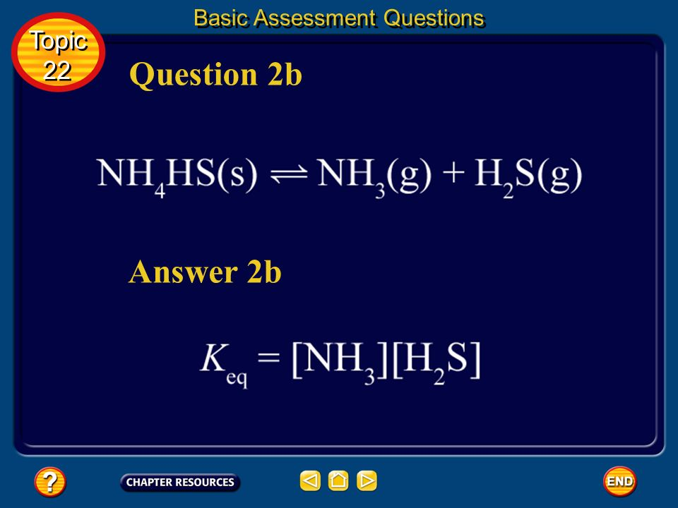 Answer 2a Question 2a Topic 22 Topic 22 Basic Assessment Questions