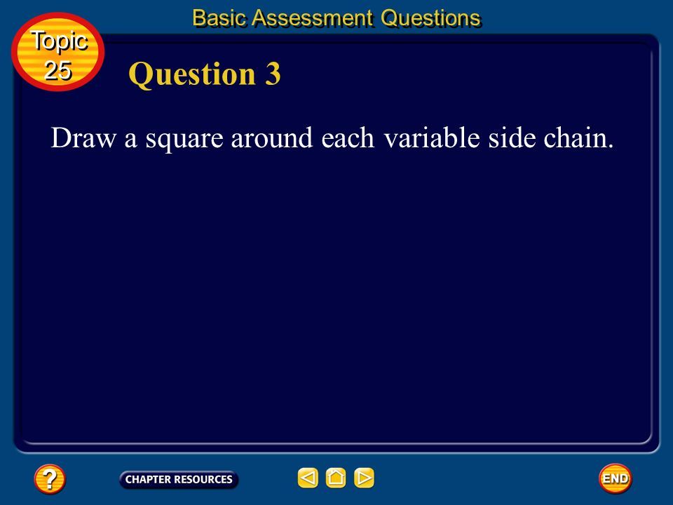 Basic Assessment Questions Answer Topic 25 Topic 25