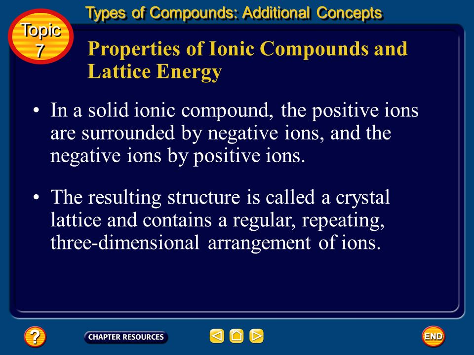Types of Compounds: Additional Concepts Forming Chemical Bonds Elements tend to react so as to achieve the stable electron configuration of a noble ga