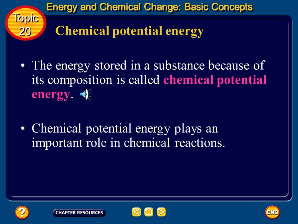 When applied to energy, this analogy embodies the law of conservation of energy. Law of conservation of energy Energy and Chemical Change: Basic Conce