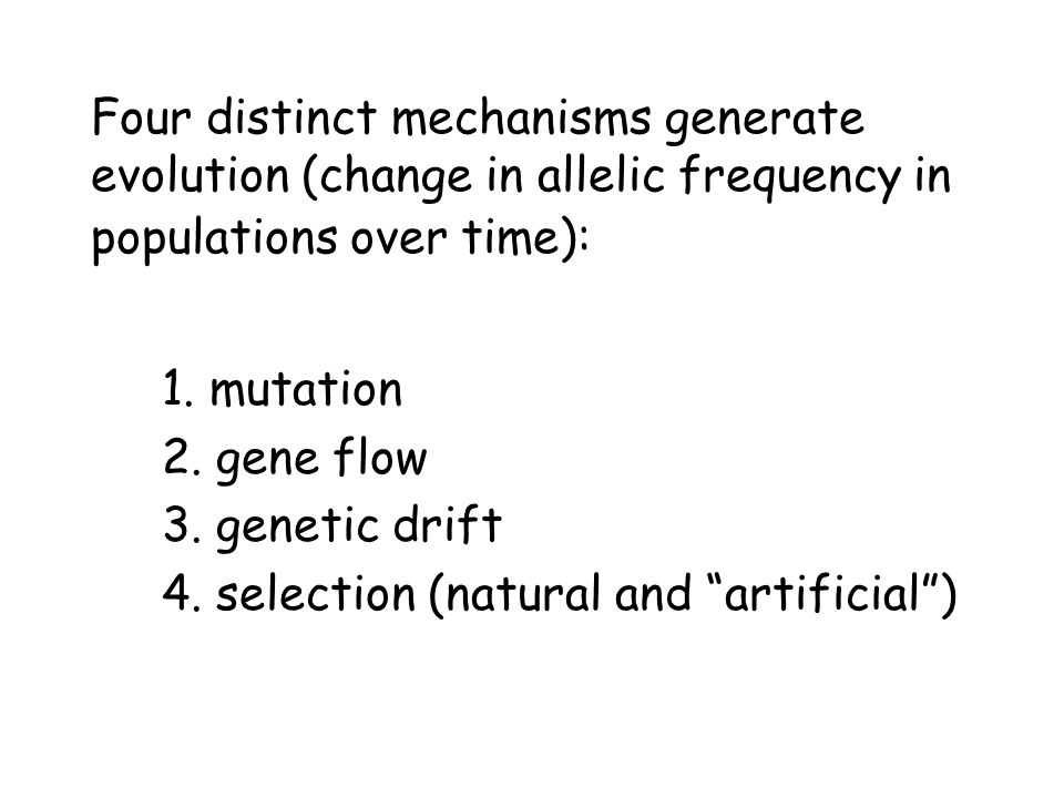 Consider how the amount of genetic divergence (change) forms a continuum: Microevolution Macroevolution small changes large changes Microevolution = adaptation Macroevolution = speciation