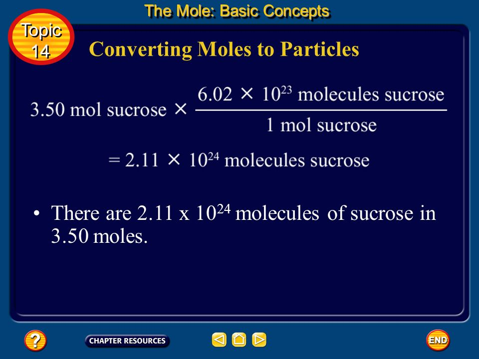 You can find the number of representative particles in a number of moles just as you found the number of roses in 3.5 dozen. Converting Moles to Parti